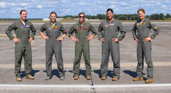 Air Force Tests New 'G-Suit' Designed for Female Pilots