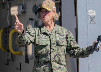 For the First Time, a Woman Will Take Command of an Aircraft Carrier