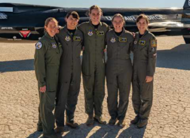 Air Force graduates its largest class of female test pilots and engineers in history