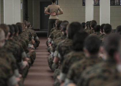 Female Recruits to Train at Marines' All-Male San Diego Boot Camp in Historic First