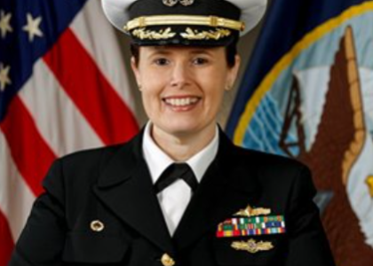Norfolk Naval Shipyard welcomes new commander, first female to lead shipyard