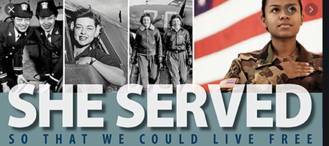 Honoring the Women of Our Military on International Women's Day